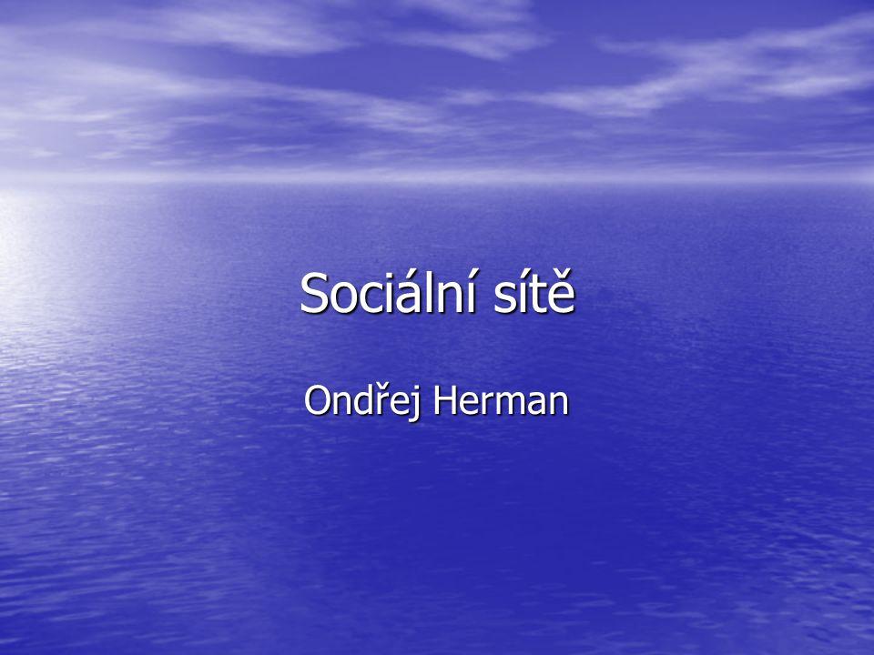 Sociální síť Sociální síť,je propojená skupina lidí, kteří se navzájem ovlivňují.