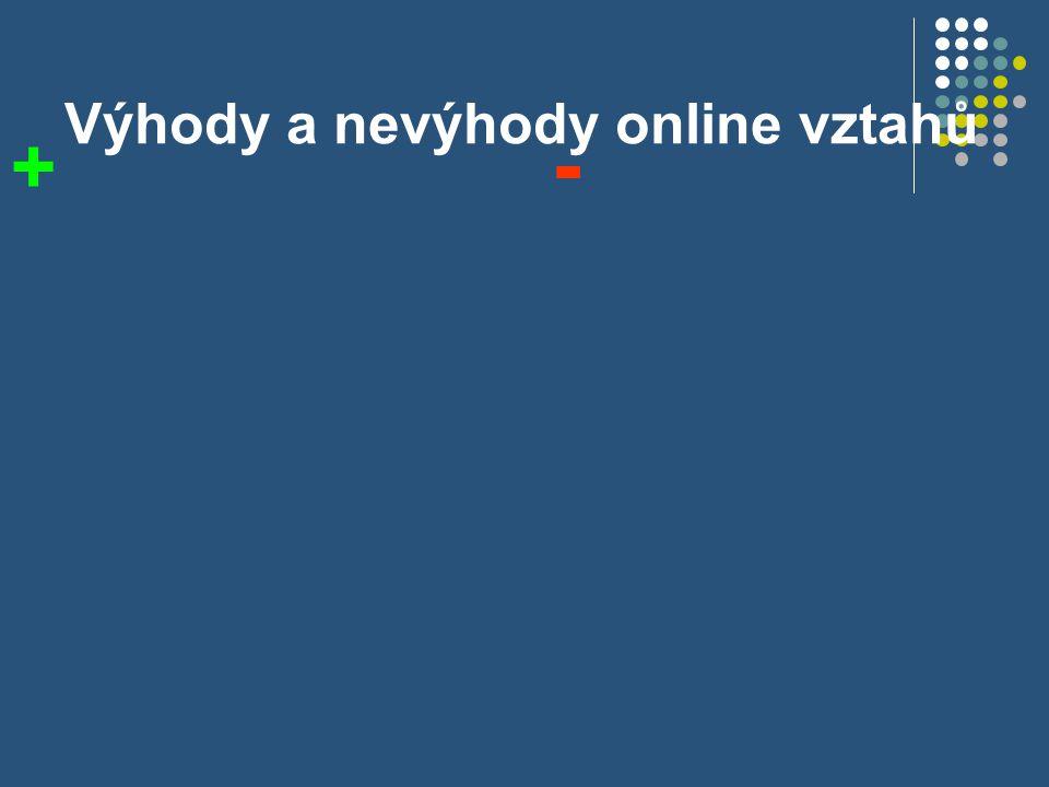 Jsou vztahy na internetu dobré nebo špatné.Špatné – proč.