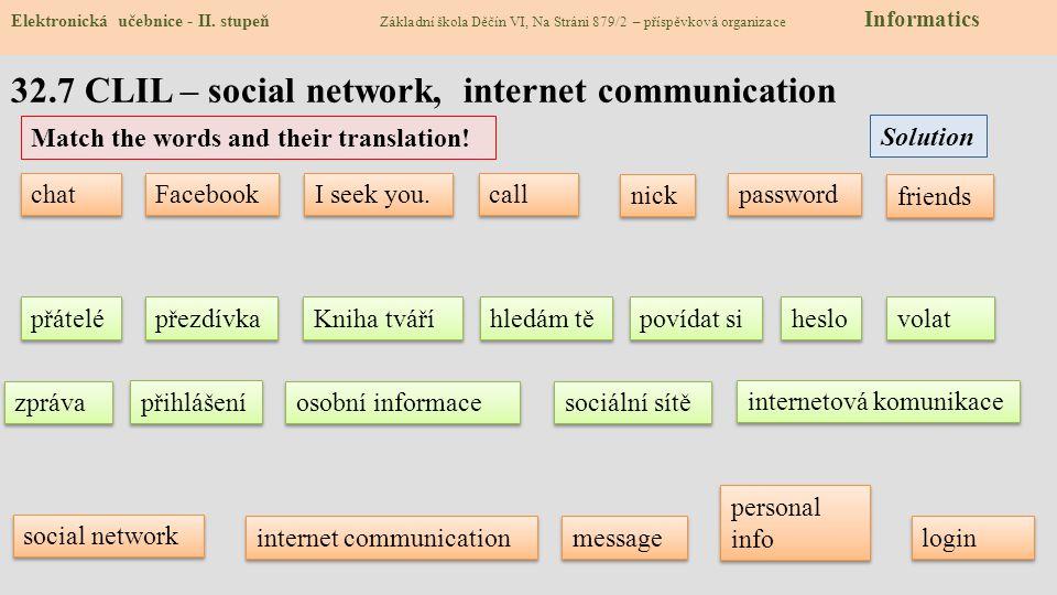 32.8 Test 1)Co je sociální síť.