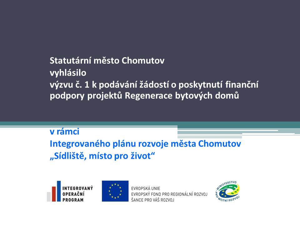 Informační zdroje Žadatel je povinen postupovat podle Příručky pro žadatele a příjemce pro oblast intervence 5.2 zveřejněné na stránkách: http://www.strukturalni-fondy.cz/iop/5-2 Žádost Benefit7 – www.eu-zadost.czwww.eu-zadost.cz Informace o IPRM IOP Chomutov - http://www.chomutov-projekty.eu/ http://www.chomutov-projekty.eu/ Nová verze příručky pro žadatele a příjemce 5.2 IOP Chomutov ze dne 7.