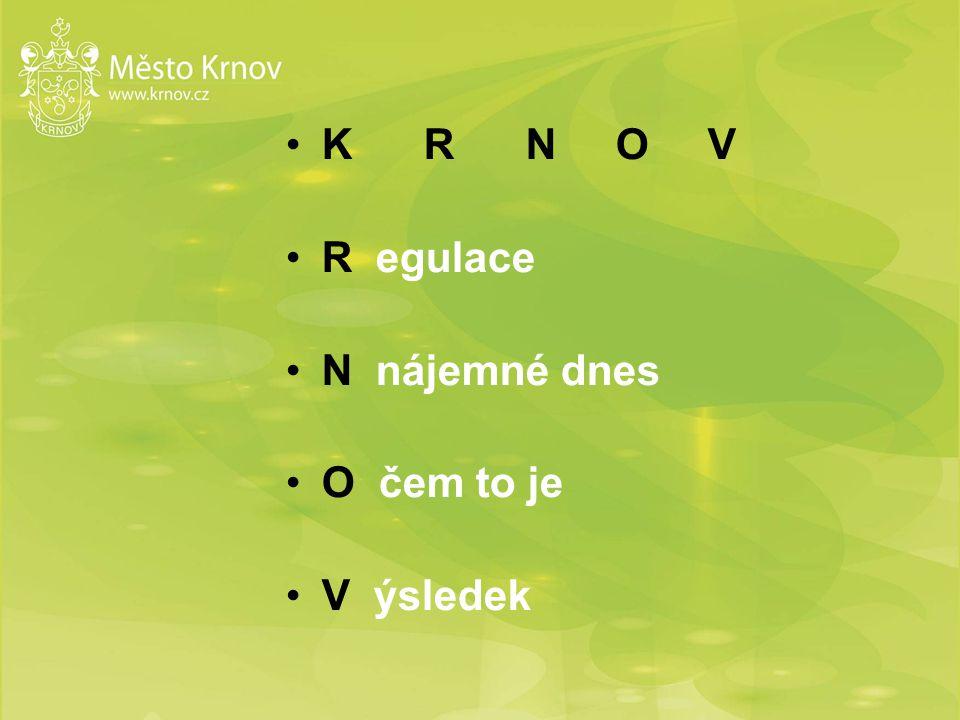 Krnov 24,5 tis.obyvatel 4,7 tis. bytů 1,5 tis.