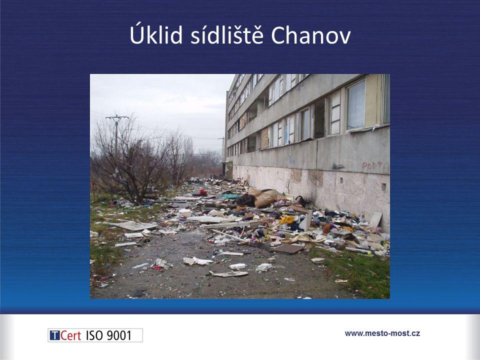 Úklid sídliště Chanov