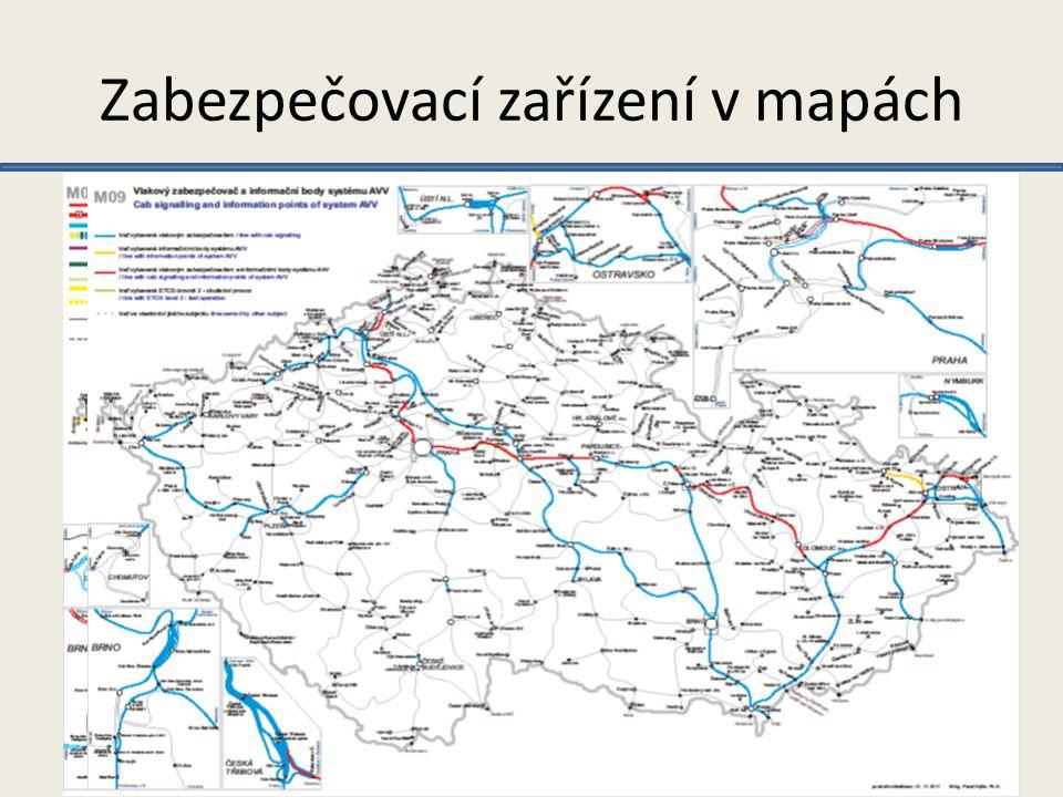 Zabezpečovací zařízení v mapách Soutež o Cenu děkana fakulty dopravní