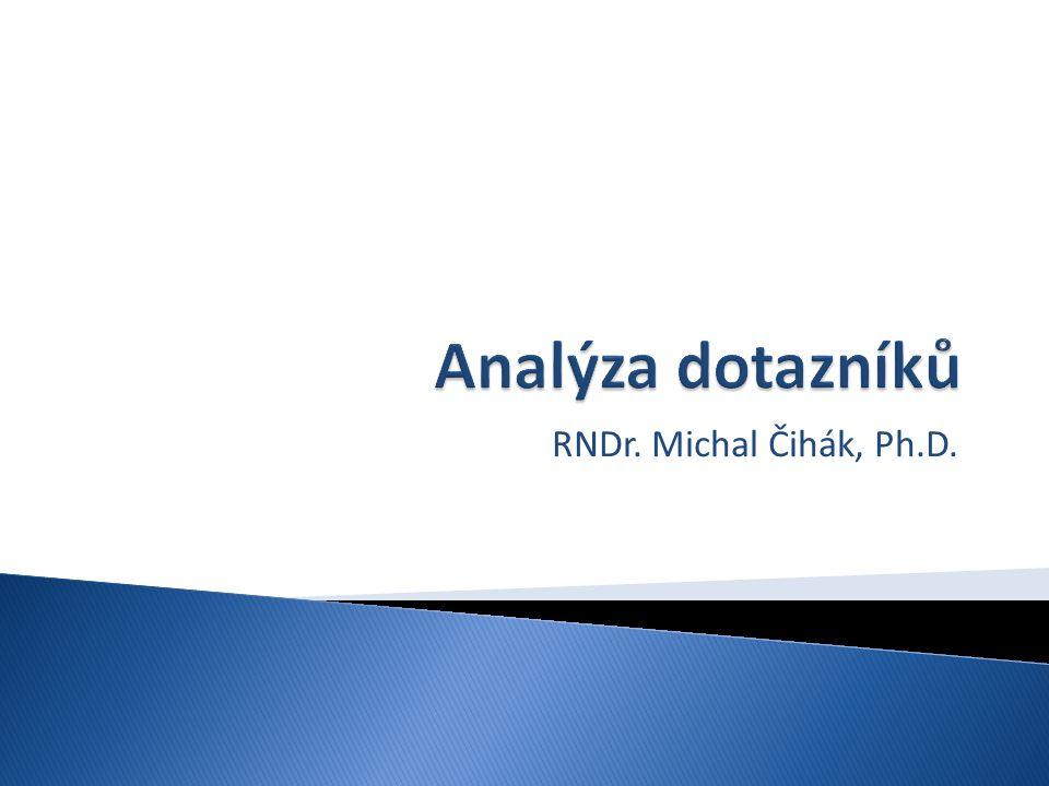RNDr. Michal Čihák, Ph.D.