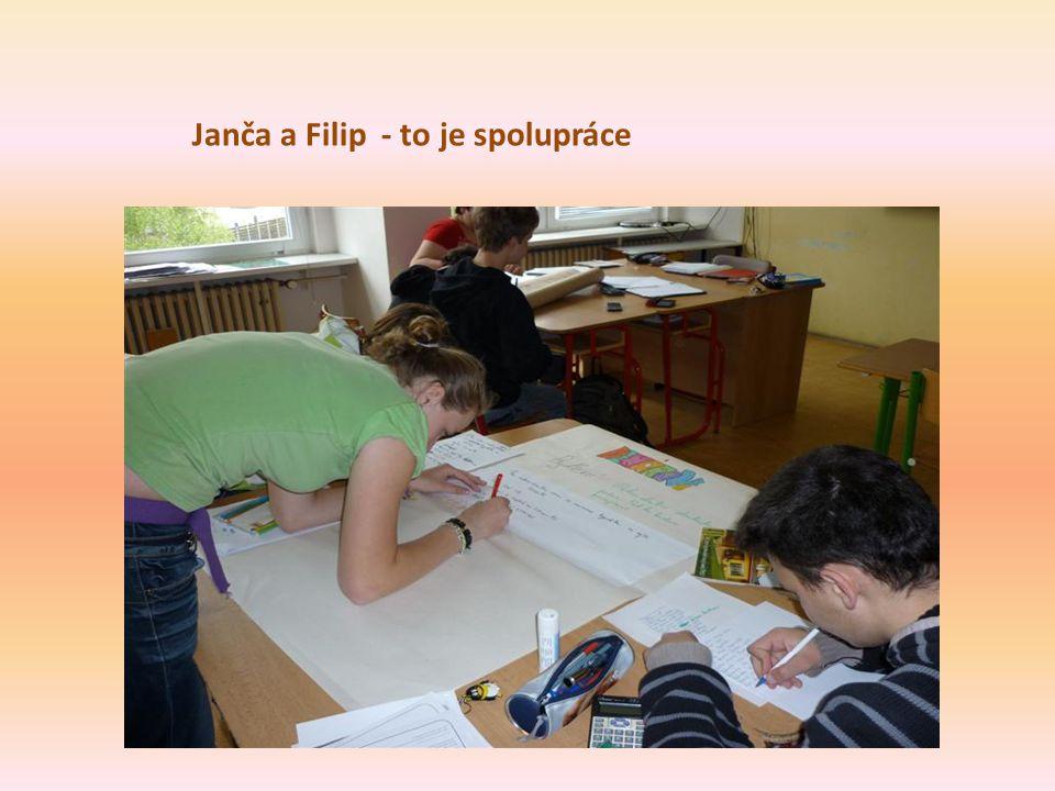 Janča a Filip - to je spolupráce