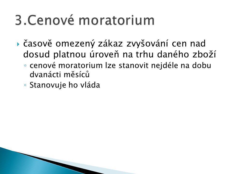 1.Cenové orgány oprávněné k REGULACI a KONTROLE cen 2.