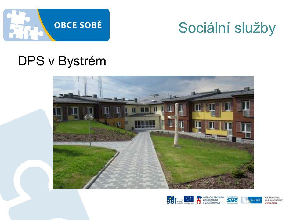 Sociální služby DPS v Bystrém