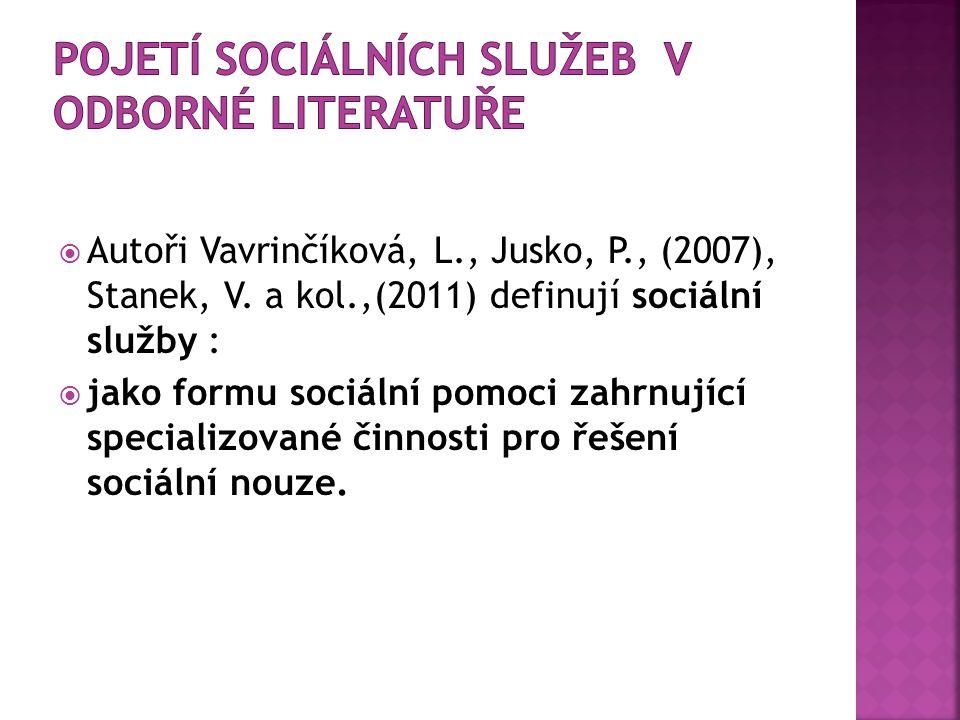  Autoři Vavrinčíková, L., Jusko, P., (2007), Stanek, V.