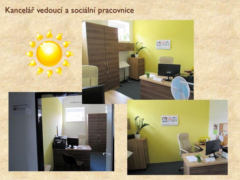 Kancelář vedoucí a sociální pracovnice