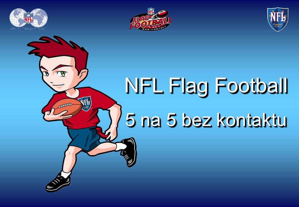 NFL Flag Football je bezkontaktní verze amerického fotbalu.