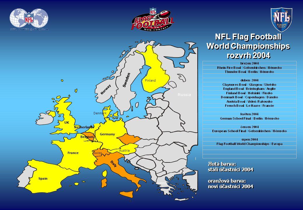 NFL Flag Football turnaje 2004 organizováno NFL Europe