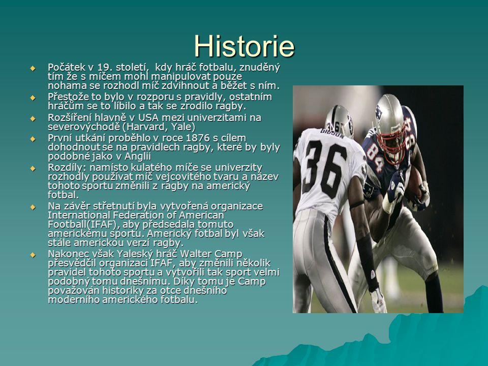 Historie  Počátek v 19.