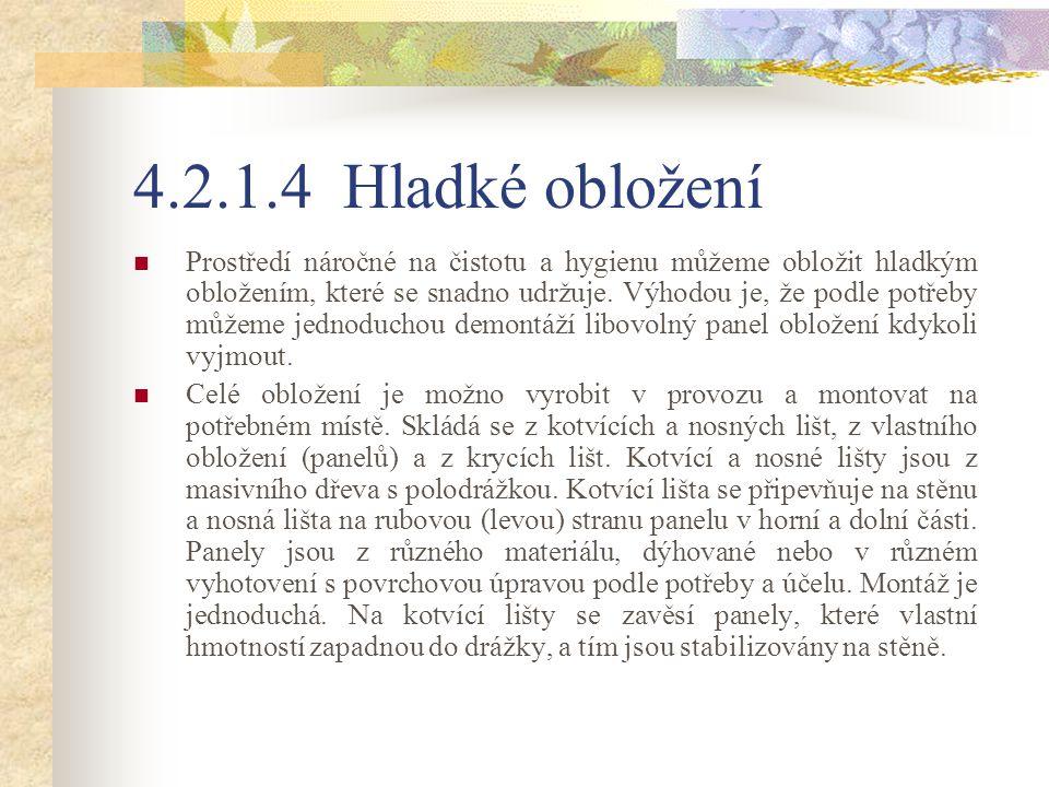 Obr. 43 Hladké rámové obložení a – půdorys, b - bokorys