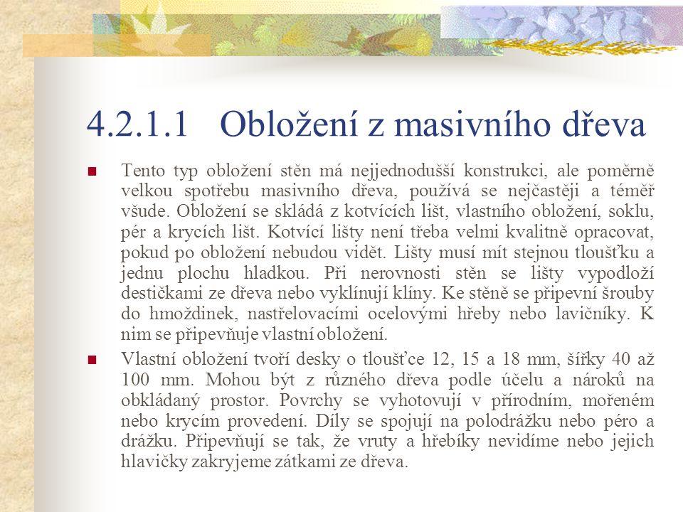 Rámové obložení Obr.