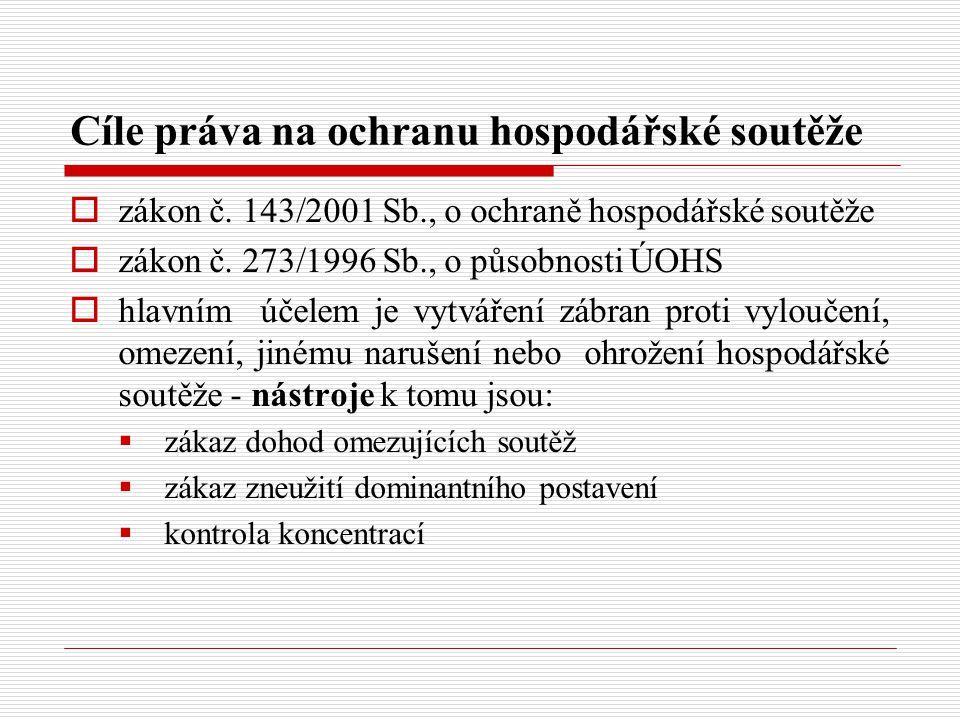 Konkrétní nároky z nekalé soutěže podle ObchZ V 5) Vydání bezdůvodného obohacení  Dle OZ, ne ObchZ  Např.