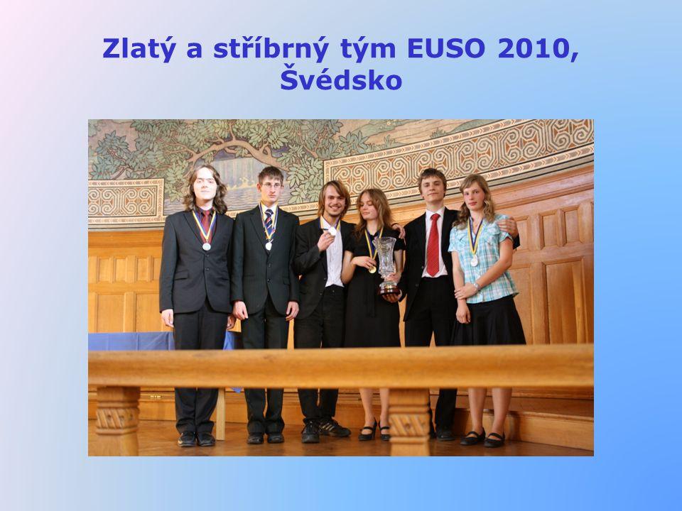 Zlatý a stříbrný tým EUSO 2010, Švédsko