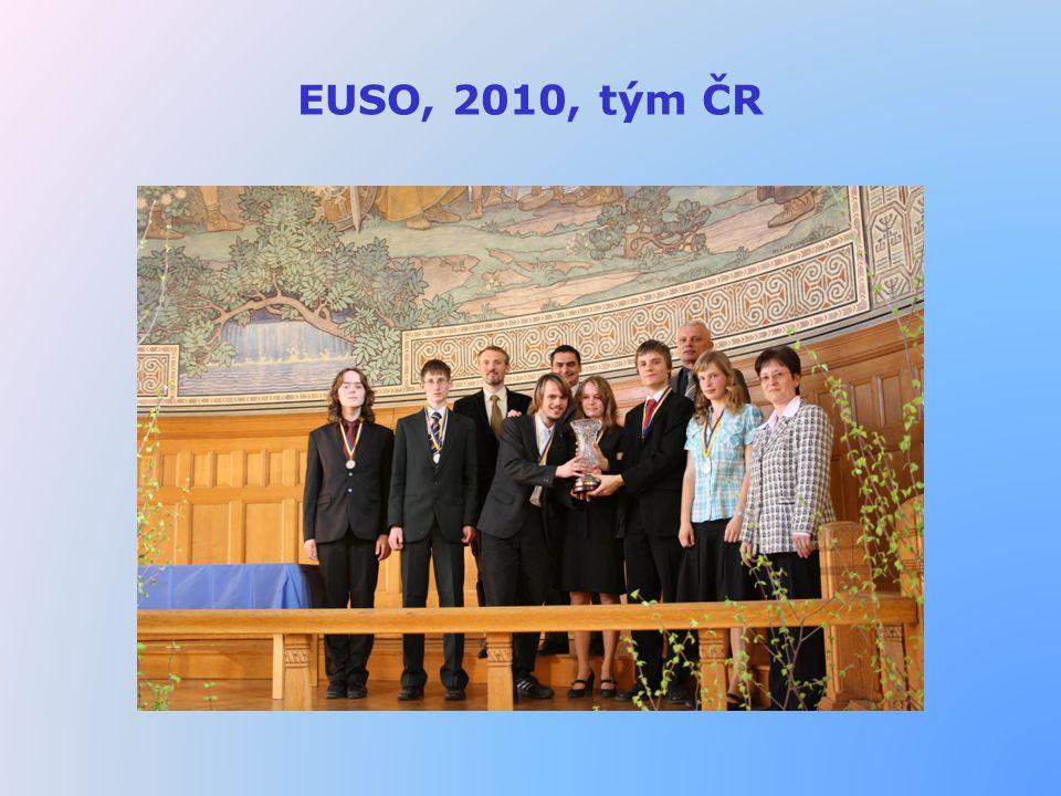 EUSO, 2010, tým ČR