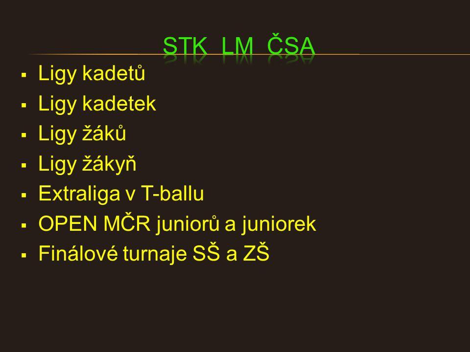  Otevřená soutěž  5x turnaj  Konečné pořadí – min.