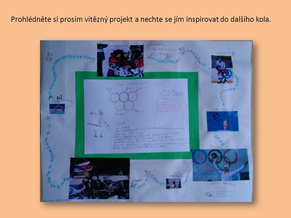 Prohlédněte si prosím vítězný projekt a nechte se jím inspirovat do dalšího kola.