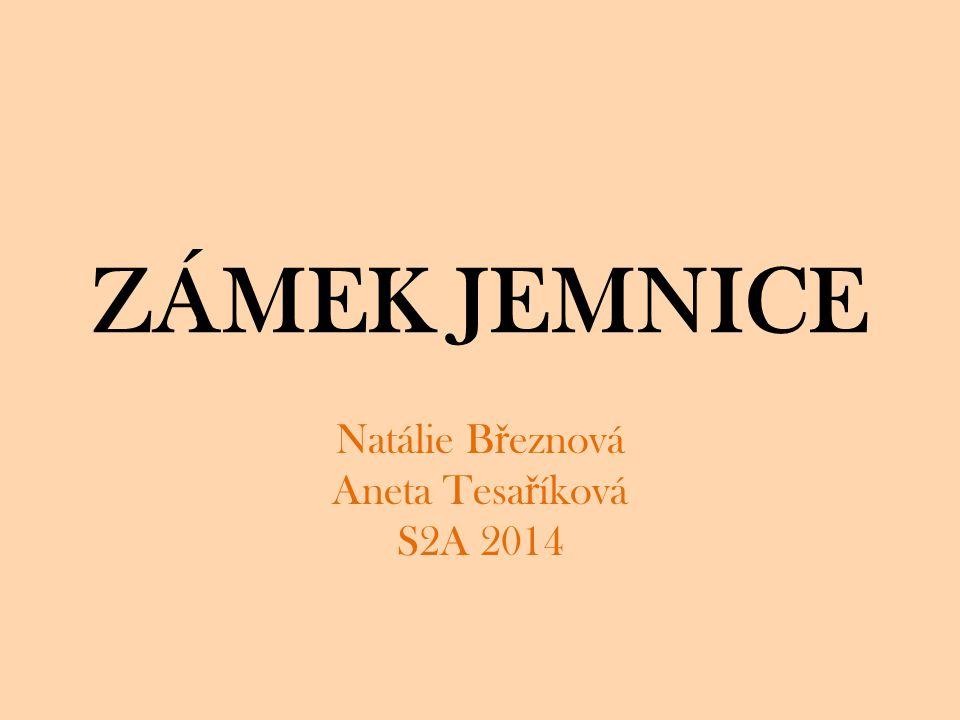 Lokalizace stavby Zámek Jemnice le ž í tém ěř v centru m ě sta Jemnice, na okraji Havlí č kova nám ě stí.
