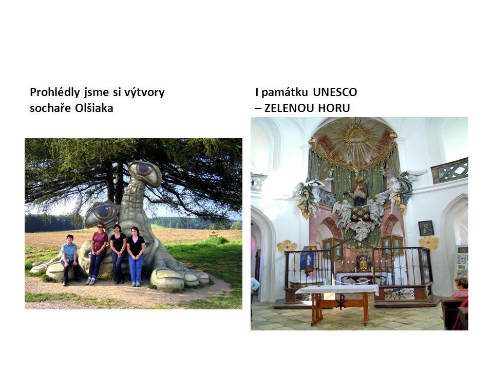 Prohlédly jsme si výtvory sochaře Olšiaka I památku UNESCO – ZELENOU HORU