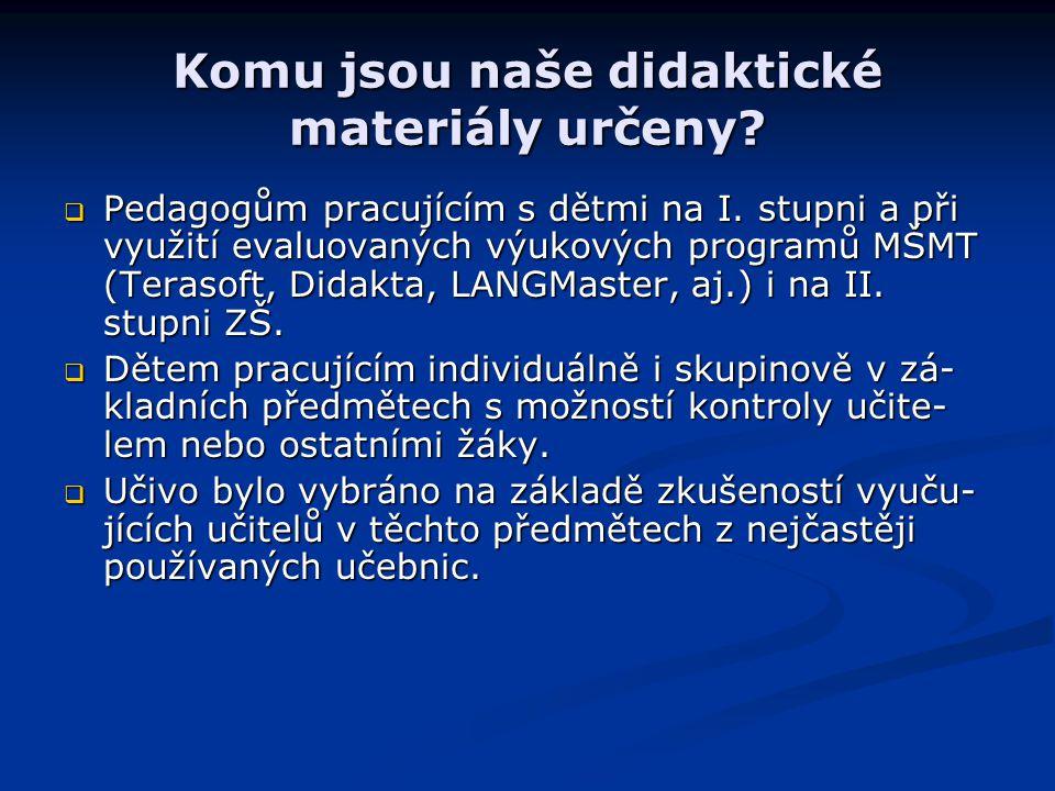 Projekt vytvořili: Bc.Daniela Petříková – Člověk a jeho svět Mgr.