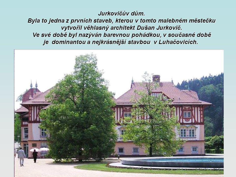Luhačovice jsou největší moravské lázně s dlouhou tradicí lázeňské léčby dýchacích cest, trávicího ústrojí, diabetu a pohybového aparátu.