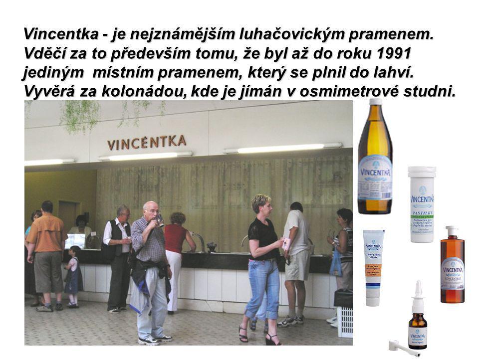 Minerální prameny vyvěraly v bezprostřední blízkosti Luhačovic od nejstarších dob.