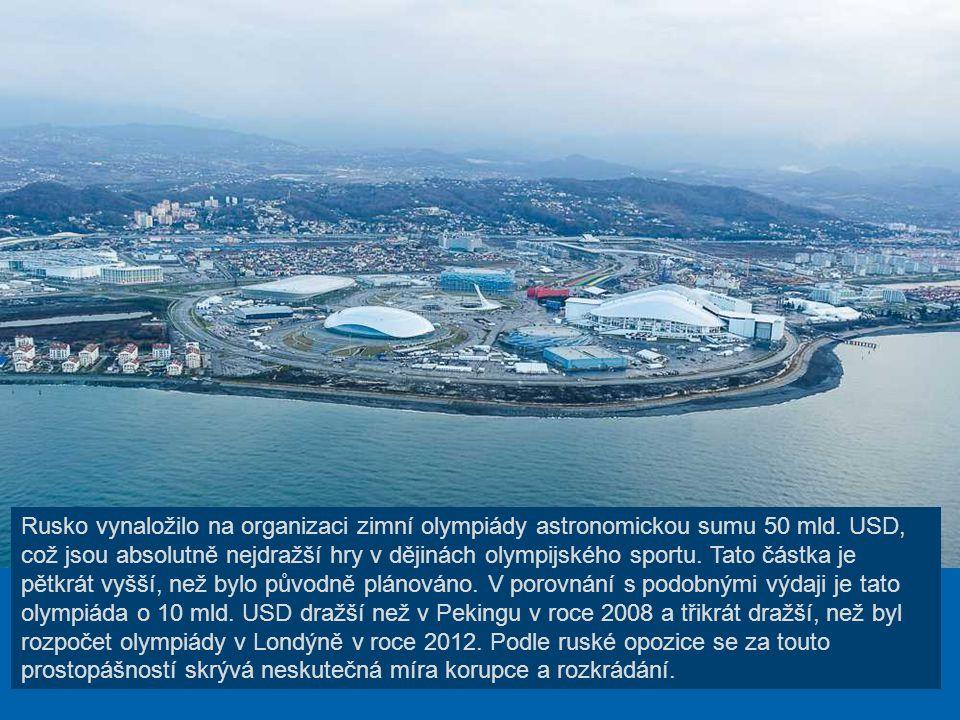 V ruském letovisku Soči byl nad Černým mořem vybudován ohromný sportovní komplex. Soči 2014 – to nejsou jen nové sportovní objekty, nýbrž i obrovské i