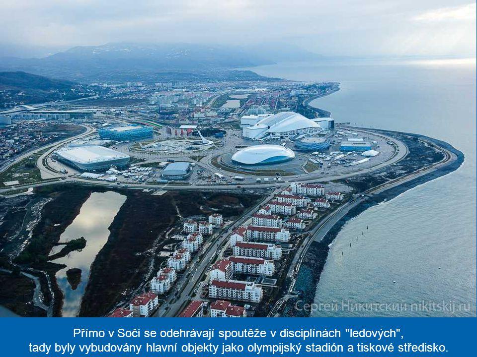 Rusko vynaložilo na organizaci zimní olympiády astronomickou sumu 50 mld. USD, což jsou absolutně nejdražší hry v dějinách olympijského sportu. Tato č