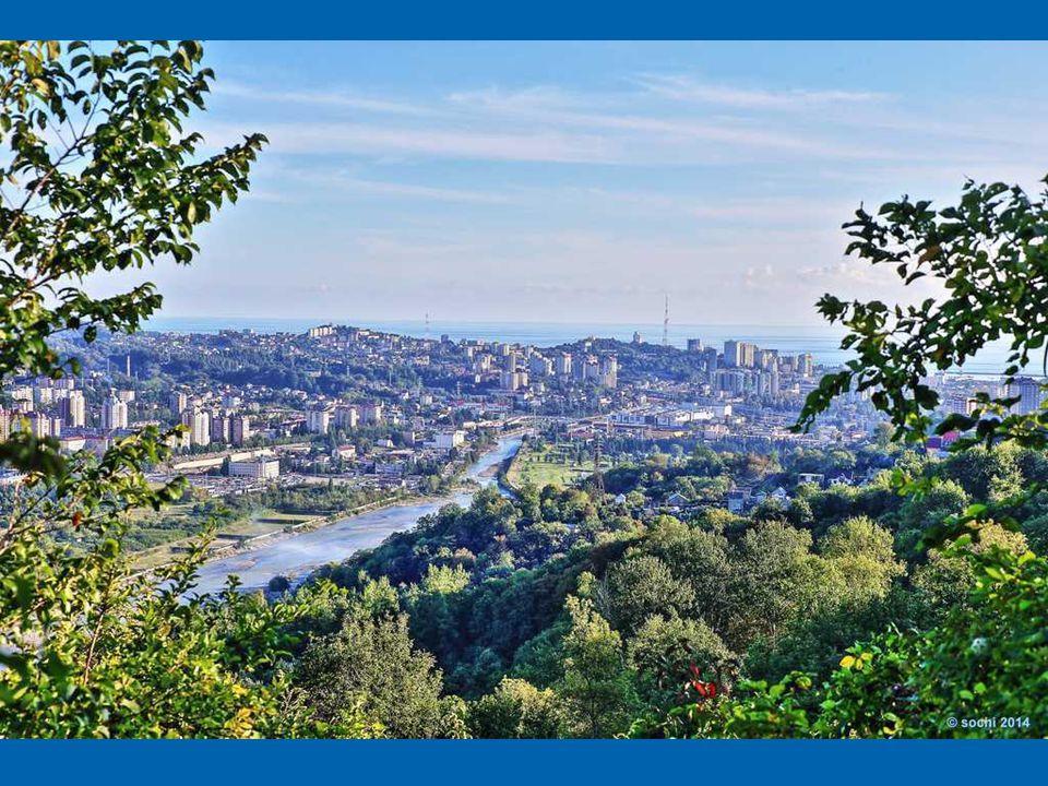 Soči je největší letní (!) lázeňský komplex v Rusku. Leží v Krasnodarském kraji nedaleko hranice s Gruzií (Abcházie). Od severozápadu je město obklope