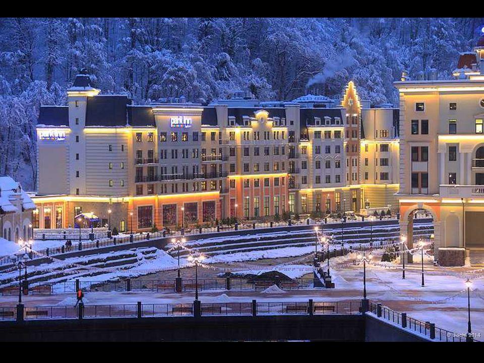 Během několik let byly zde vyrostly moderní hotely, restaurace, výtahy, stezky a snowparky - vše rychlostí blesku, aby se stihlo zahájení olympijských