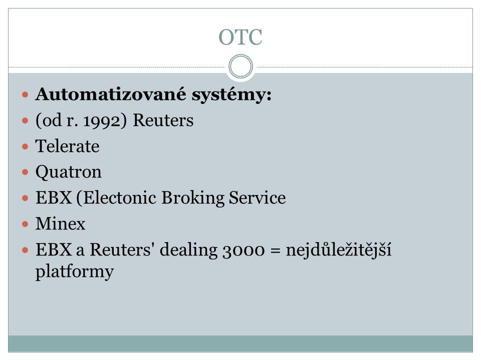 OTC Automatizované systémy: (od r.