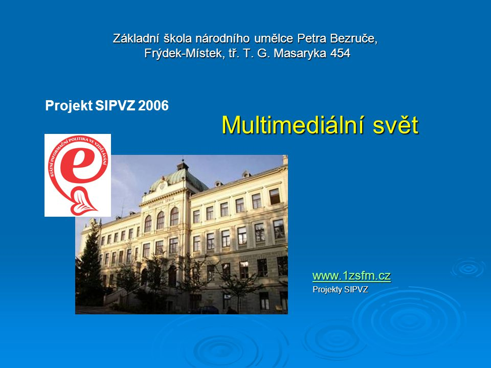 Vzdělávací obor: Rodinná výchova Ročník : 8.ročník Autor prezentace: Mgr.