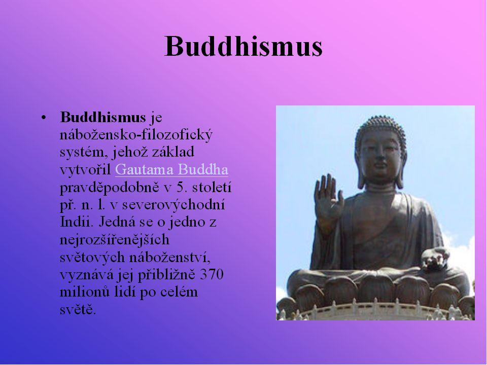 Buddhova socha s aurou, která podle textů měla vyzařovat z jeho těla.