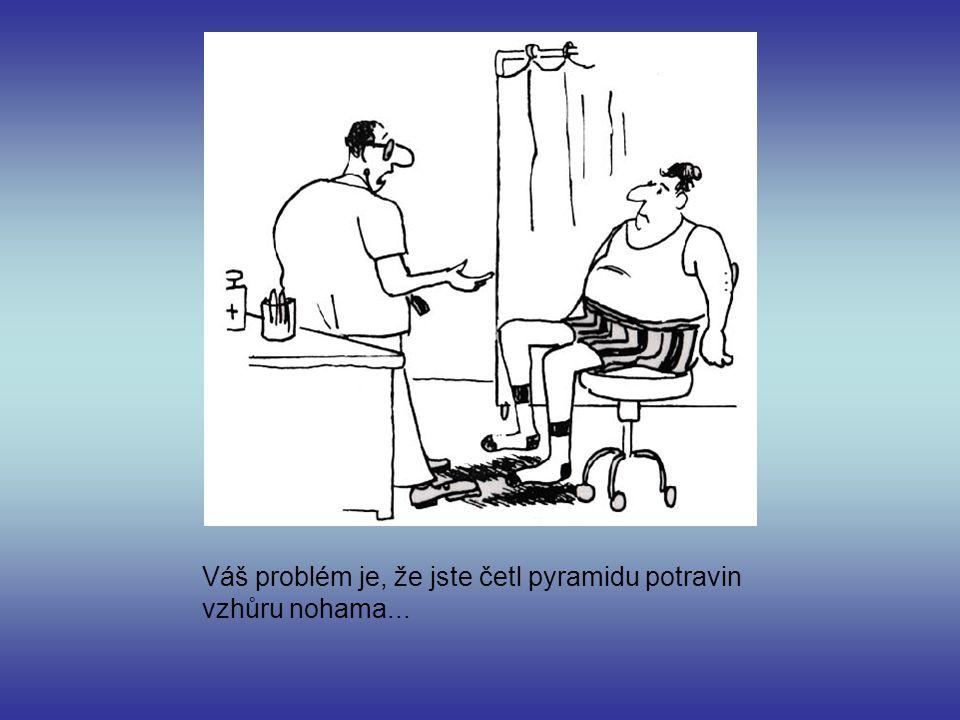 Váš problém je, že jste četl pyramidu potravin vzhůru nohama...