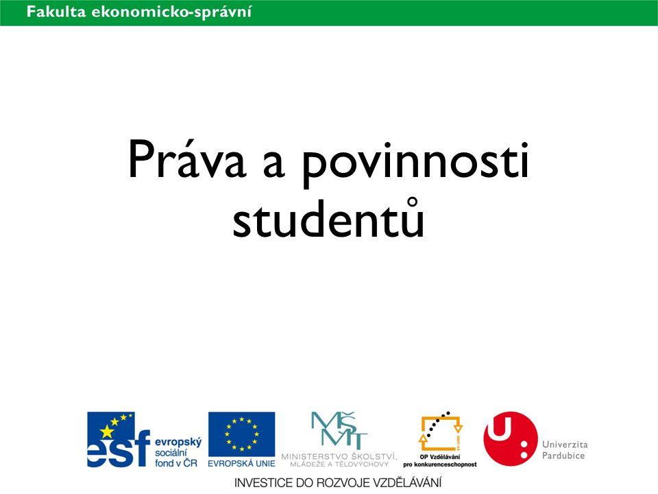 Práva a povinnosti studentů