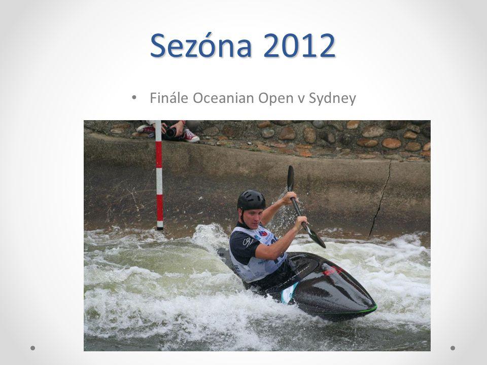 Sezóna 2012 Finále Oceanian Open v Sydney