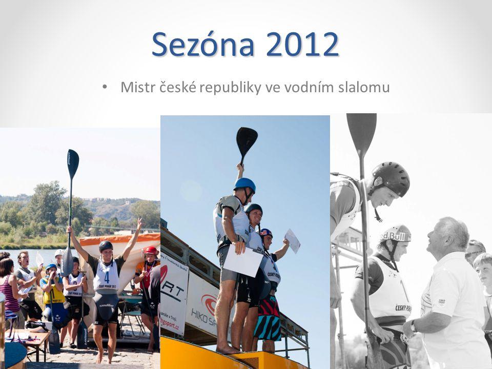 Sezóna 2012 7. místo SP Bratislava a 15. místo celkové hodnocení SP