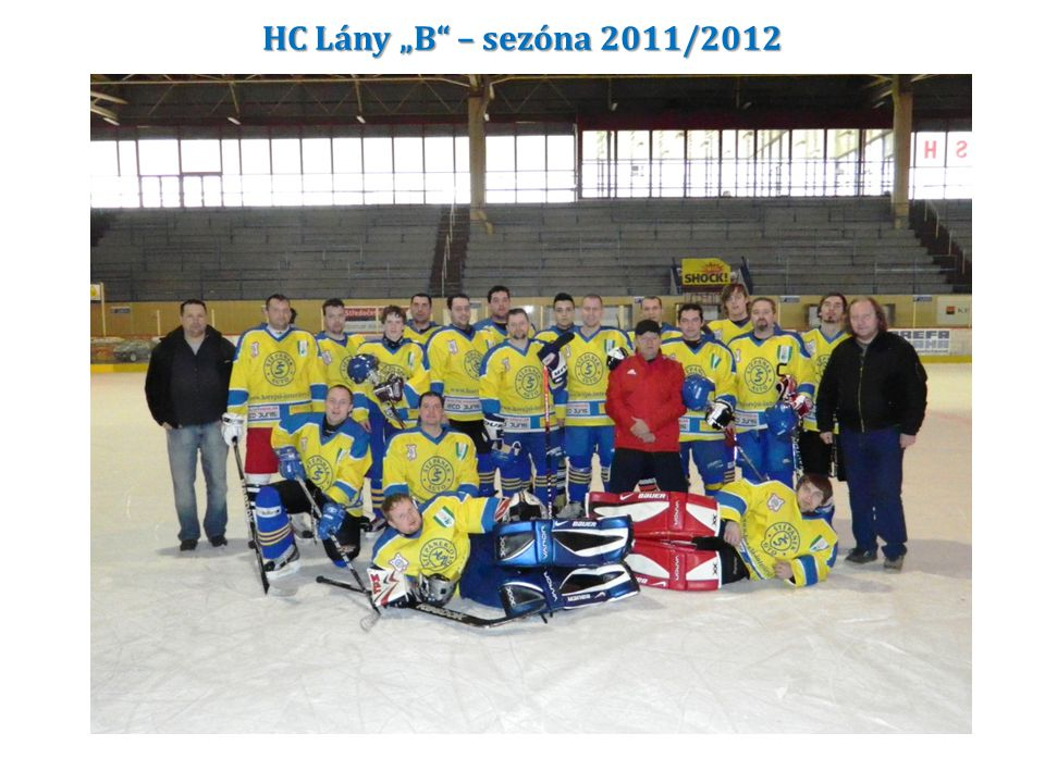 """HC Lány """"B"""" – sezóna 2011/2012"""