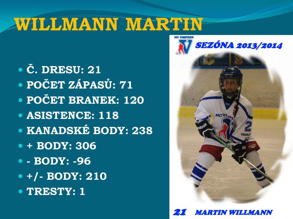 WILLMANN MARTIN Č.