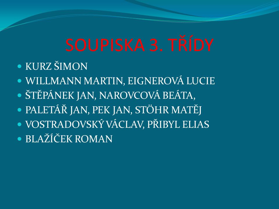 SOUPISKA 3.
