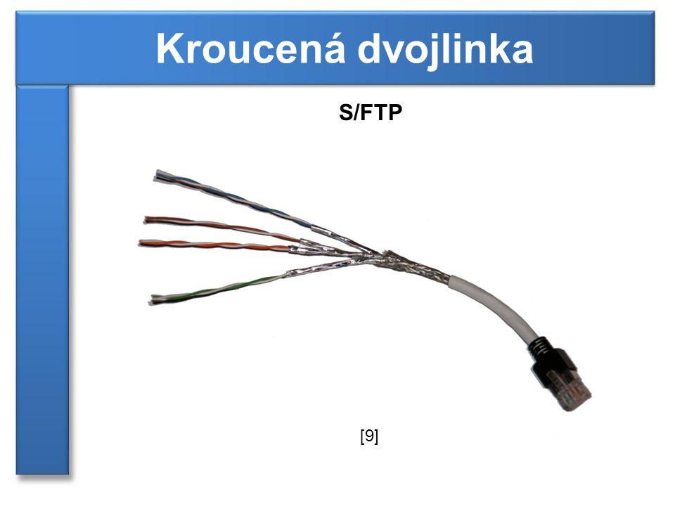 S/FTP Kroucená dvojlinka [9]