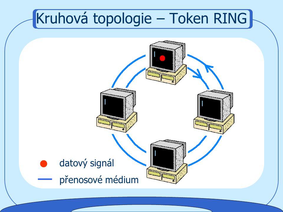 datový signál přenosové médium