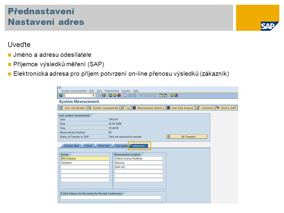 Klasifikace uživatelů typu Multiclient/-system Označte sloupec User Vyberte uživatelský typ Multi-Client/System Zadejte údaje jenž odkazují na účtovatelného uživatele v původním systému jakožto ID systému, číslo klienta a jméno uživatele Vyberte Save Poznámka: Funkce hromadná změna a migrace ceníku nejsou dostupné pro typy Multiclient/-system