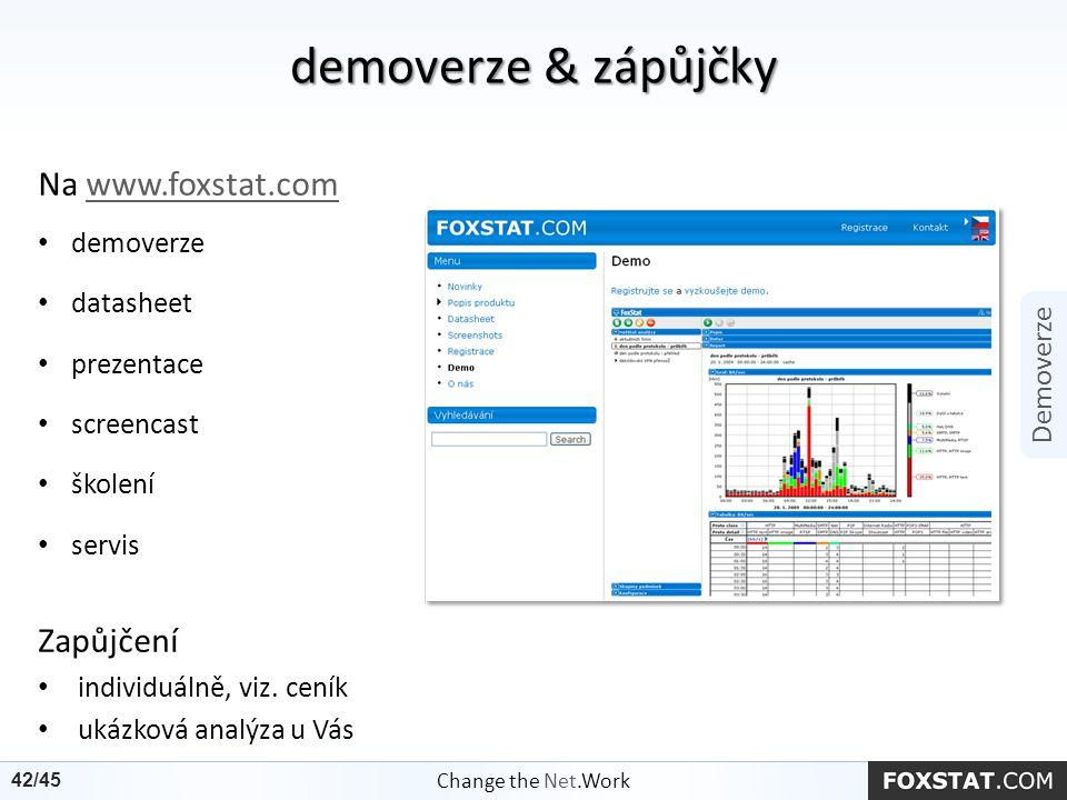 Na www.foxstat.comwww.foxstat.com demoverze datasheet prezentace screencast školení servis Zapůjčení individuálně, viz. ceník ukázková analýza u Vás d