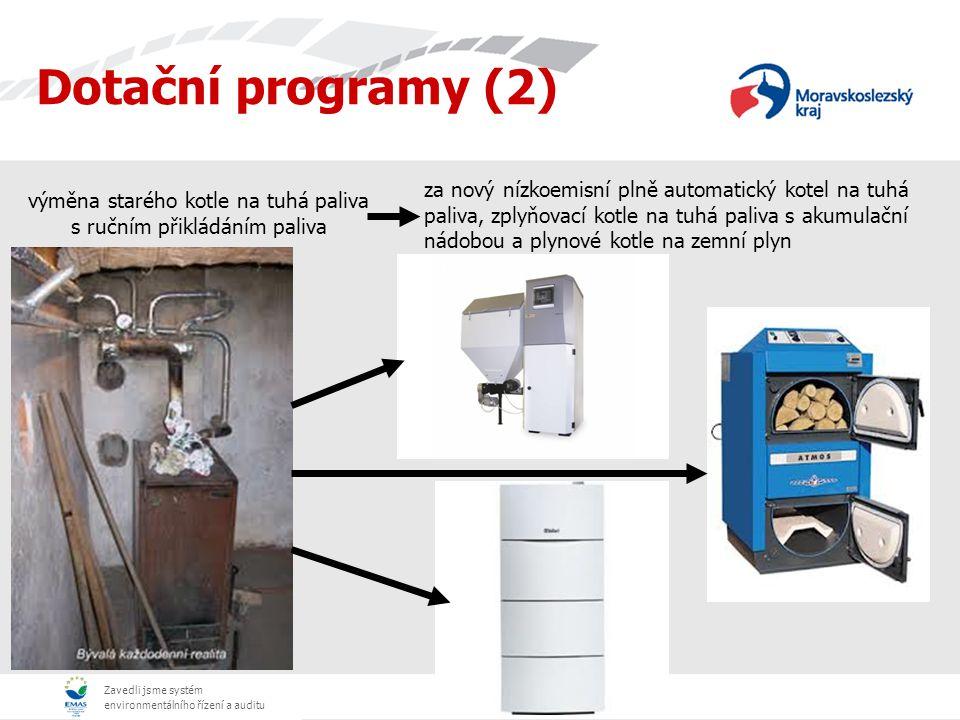 Zavedli jsme systém environmentálního řízení a auditu - Od 1.2.2012 kotlíková dotace začala (možnost výměny starého kotle na tuhá paliva za nízkoemisní automatický kotel) a průběžně pokračuje do současnosti - 1.