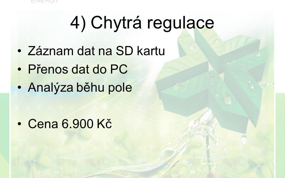 Záznam dat na SD kartu Přenos dat do PC Analýza běhu pole Cena 6.900 Kč