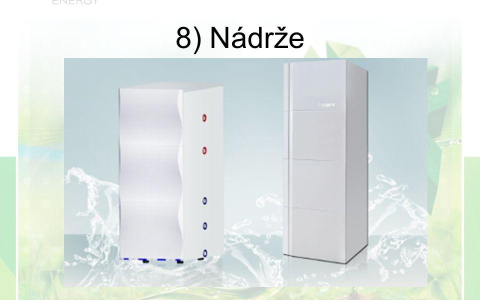 8) Nádrže