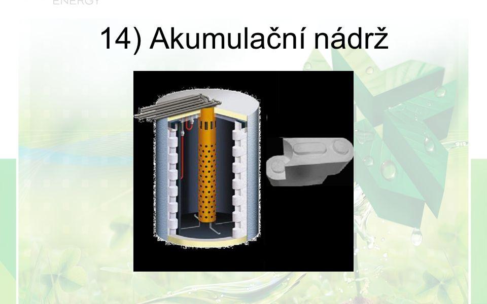 14) Akumulační nádrž